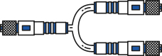 Twin Cable Connector